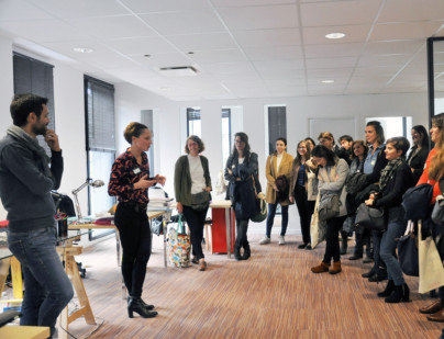 Présentation de l'Atelier Rosemood lors de la Start Up Assembly